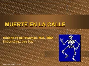 Muerte en la Calle - Reeme.arizona.edu