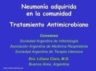 Neumonía adquirida en la comunidad - Reeme.arizona.edu