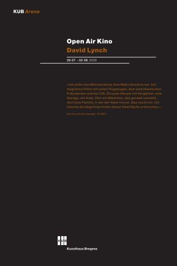 Open Air Kino David Lynch
