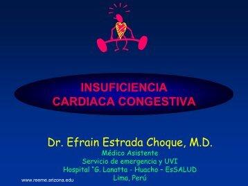 INSUFICIENCIA CARDIACA CONGESTIVA - Reeme.arizona.edu