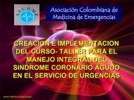 Creación del Curso para el Manejo Integral del Síndrome Coronario ...