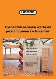 broszura szaf Hadak (PDF, 1090 KB, język polski) - MT Storage