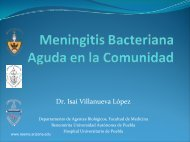 Meningitis Bacteriana Aguda en la Comunidad - Reeme.arizona.edu