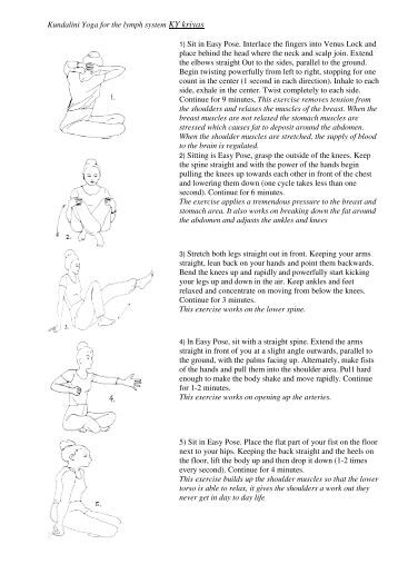 Kundalini Yoga for flexibility and the spine KY kriyas 1 ...