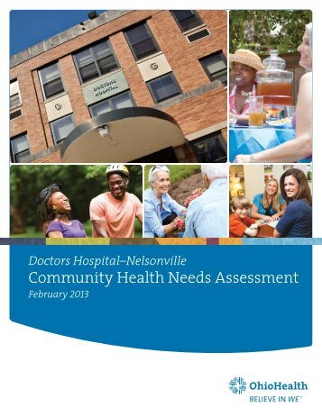 Community Health Needs Assessment - OhioHealth