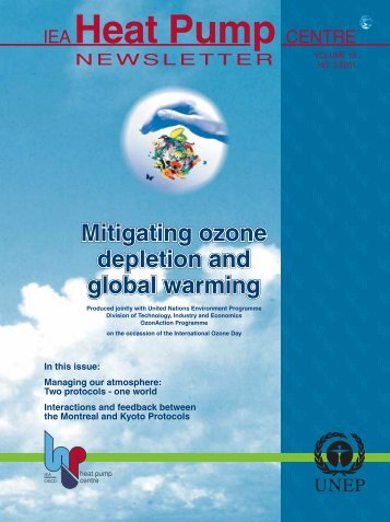 Mitigating Ozone Depletion and Global Warming - Ministry of ...