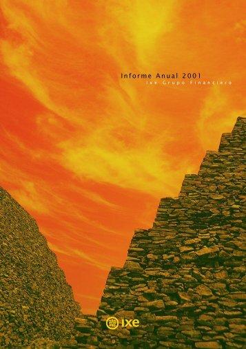 Informe Anual 2001 - Ixe