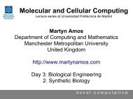 2. Synthetic Biology - Science & Engineering - Manchester ...