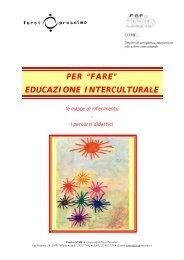 """PER """"FARE"""" EDUCAZIONE INTERCULTURALE - Centro COME"""