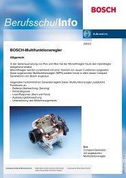 BOSCH-Multifunktionsregler