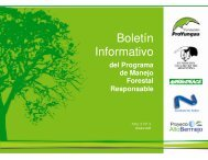 Boletín Informativo - Fundación ProYungas