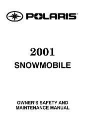 SNOWMOBILE - Polaris