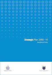Strategic Plan 2008 - 10 - Police Reform Programme