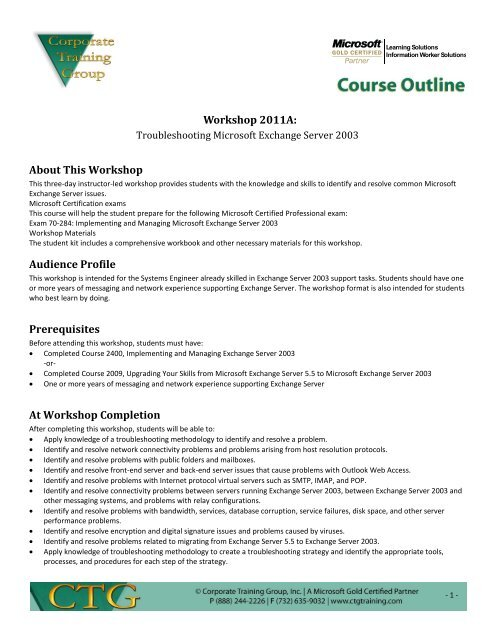 New ctg course outline template.