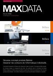 Nouveau concept produits Belinea Dessiner les contours ... - MaxData
