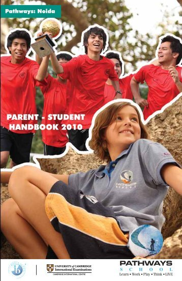 Parent - Student Handbook 2010 Edition 1 - Pathways World School