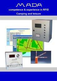 RFID-time terminal in housing (surface / subsurface mounting)