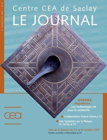 Journal de Saclay n°37 - CEA Saclay