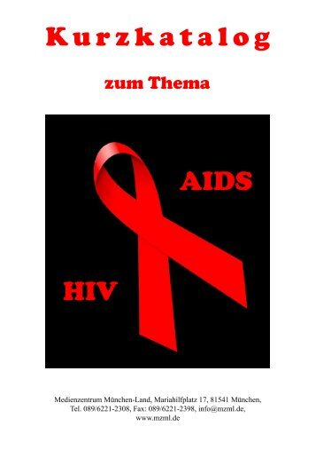Kurzkatalog HIV AIDS -  MZML