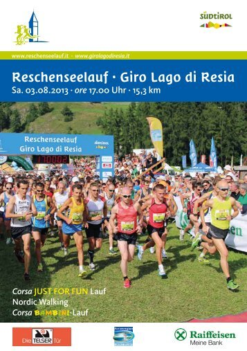 Reschenseelauf · Giro Lago di Resia
