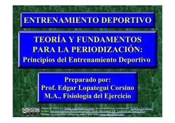 Entrenamiento Deportivo: Principios - Saludmed