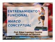 ENTRENAMIENTO FUNCIONAL: Marco Conceptual - Saludmed