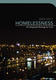 Homelessness - Cork City Council