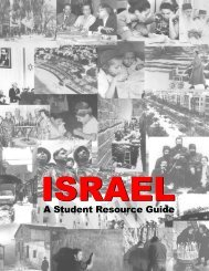 A Student Resource Guide - American Jewish Committee
