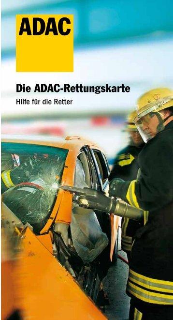 Rettungsbroschüre - ADAC
