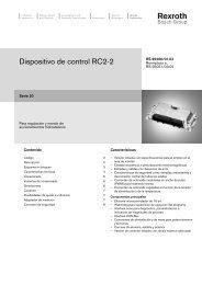 Dispositivo de control RC2-2 - Bosch Rexroth