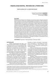 Radiologia Digital: Revisão de literatura - Apcdaracatuba.com.br