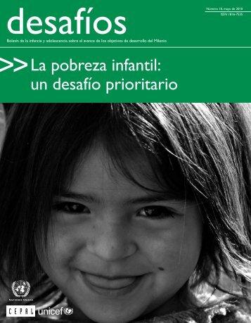 La pobreza infantil: un desafío prioritario - Asociación Chilena de ...
