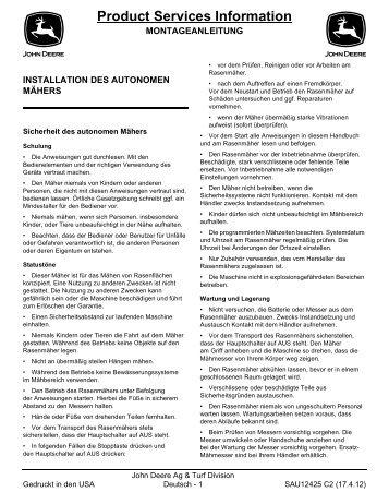 Product Services Information - myRobotcenter