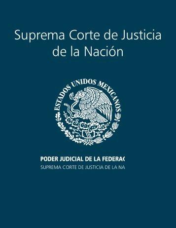 portadillas informe - Suprema Corte de Justicia de la Nación