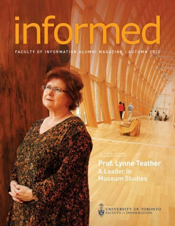 Prof. Lynne Teather - Faculty of Information - University of Toronto