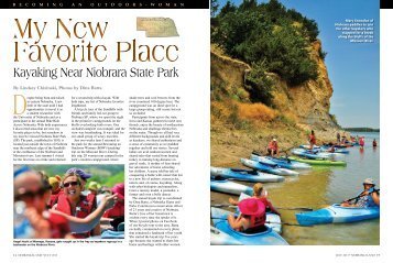 Kayaking Near Niobrara State Park - Nebraska Game and Parks ...