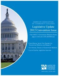 LegislativeUpdate12_cover - American Association of Community ...