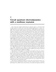 1 Circuit quantum electrodynamics with a nonlinear resonator - EPIQ
