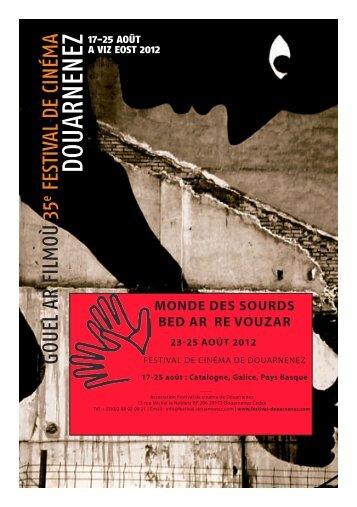 Pré-programme monde des sourds 2012 - Festival de cinéma de ...