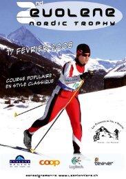 NORDIC TROPHy - Ski Romand (ch)