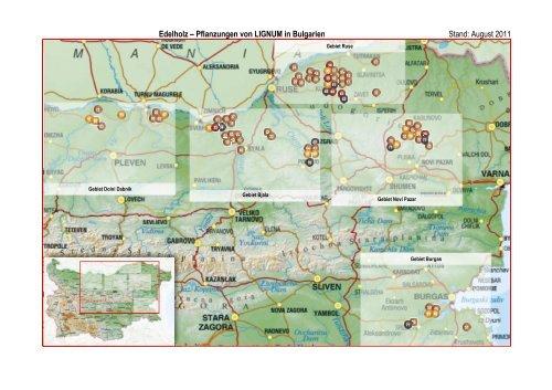 Edelholz Pflanzungen von LIGNUM in Bulgarien ... - Sachwert Invest
