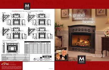 GrandStyle Direct Vent Gas Fireplaces - Sweepsusa.net