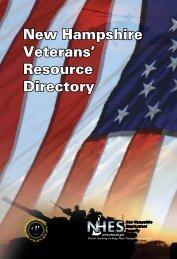 Veterans' Resource Directory - New Hampshire Employment ...