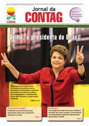 Dilma, a presidenta do Brasil - Contag