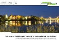 General brochure of RAITA environment technology Infra systems