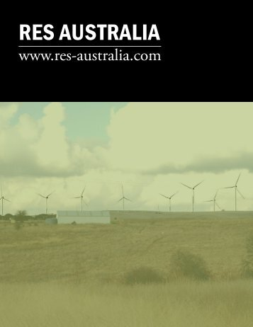 RES AUSTRALIA - The International Resource Journal