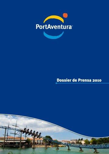 Dossier de Prensa 2010 - PortAventura