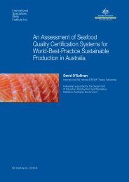 An Assessment of Seafood Quality Certification Systems for World ...