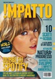 Impatto Magazine: Dubbi su Spotify // N. #8 // 25 novembre 2014