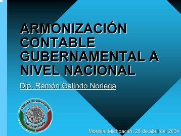 Armonización contable municipal a nivel nacional - Indetec